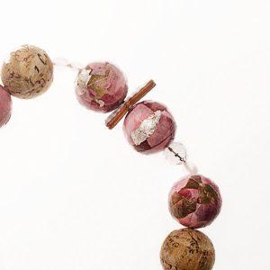 Collar Poesia en papel, plata, piedras semipreciosas - Colección Don't Wash - Giovanna Bittante Design